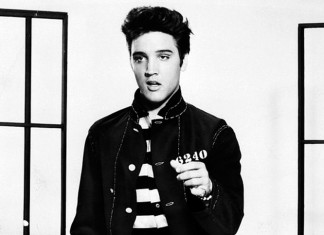Elvis Presley promoting Jailhouse Rock - (c) Metro-Goldwyn-Mayer, Inc.
