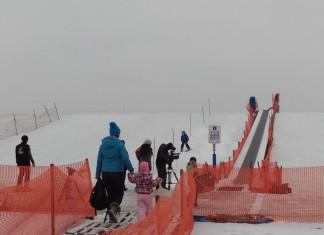 Schifahren in Aspern